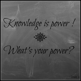 Knowledge is powerUntitled